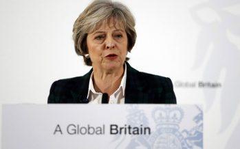 Rusia rechaza acusaciones de primera ministra británica