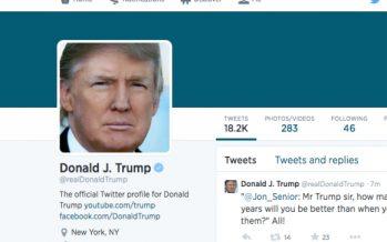 Tuit de Trump da pie a sospechas de obstrucción de justicia