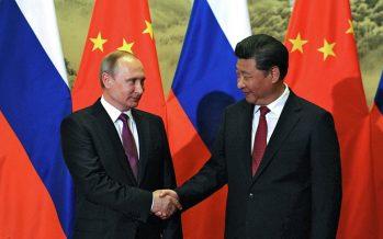Eje entre Rusia y China está cambiando el orden mundial
