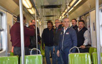 Urge financiamiento federal al Metro: Mancera
