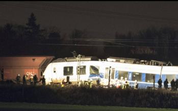 Al menos 41 heridos tras choque de trenes en Alemania