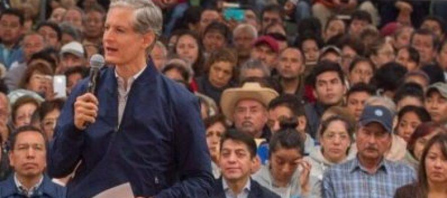 Alfredo del Mazo anuncia aumento salarial a policías mexiquenses