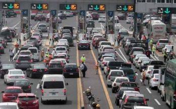 Autopistas registran gran aforo vehicular por vacacionistas