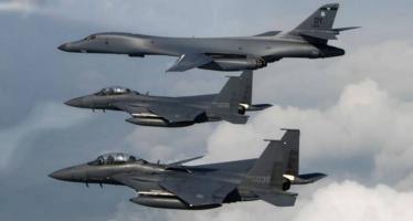 EEUU y Corea del Sur inician ejercicios aéreos masivos