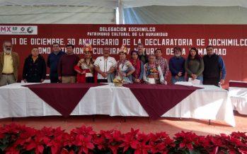 Xochimilco celebra 30 años de declaratoria por la UNESCO