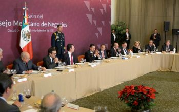 EPN se reúne con miembros del consejo mexicano de negocios