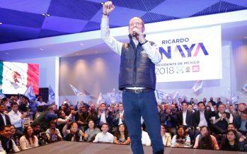 El 2018 será de retos para cambiar la historia, afirma Ricardo Anaya