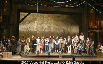 El Hombre de La Mancha inició la noche de ayer una nueva etapa en el Teatro San Rafael