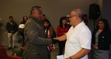 Entregan ayuda económica en la Delegación Xochimilco