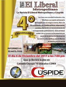 LIBERAL METROPOLITANO INVITACION