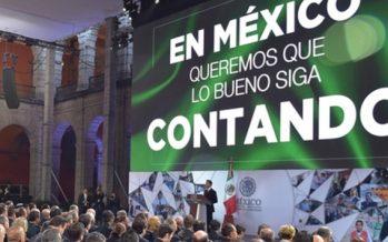 México no debe detenerse ni poner en riesgo avances alcanzados
