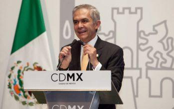 "Mancera declina a participar en la coalición ""Por México al Frente"""
