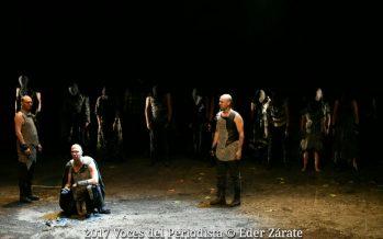 Numancia, de Miguel de Cervantes Saavedra, iniciará a partir de hoy nueva temporada en el Teatro Julio Castillo del Centro Cultural del Bosque
