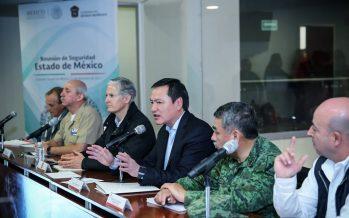 Osorio Chong y Alfredo del Mazo, acciones para reforzar seguridad