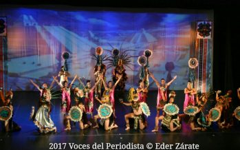 La Compañía de Danza México Vivo presentó anoche Pasajes de nuestra historia