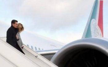 Peña Nieto arriba a París para participar en Cumbre One Planet