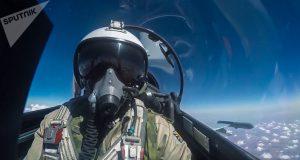 Piloto de guerra ruso. (Ministerio de Defensa de la Federación Rusa-Sputnik)
