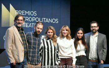 Los Premios Metropolitanos de Teatro presentan el Premio CDMX