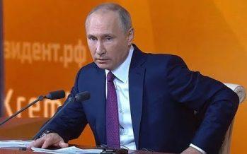 Putin explica cómo deben relacionarse Rusia y EE.UU.
