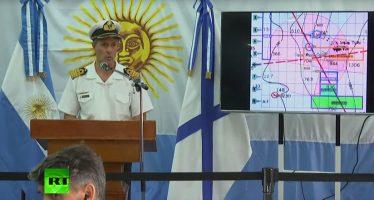 Armada Argentina busca al ARA San Juan en otros dos puntos
