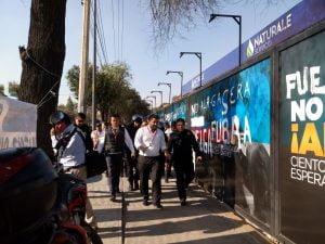 Reprimen en Xochimilco manifestación pacífica contra gasera 2
