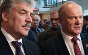 Líder de comunistas rusos da un paso atrás y esta es la razón