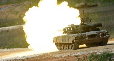 Rusia moderniza sus tanques de alta velocidad T-80