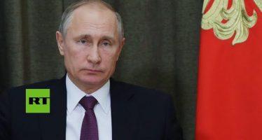 Siria: Putin autoriza retirada de una parte de tropas rusas