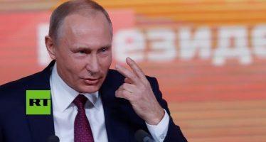 Putin explica cómo deben relacionarse Rusia y EU