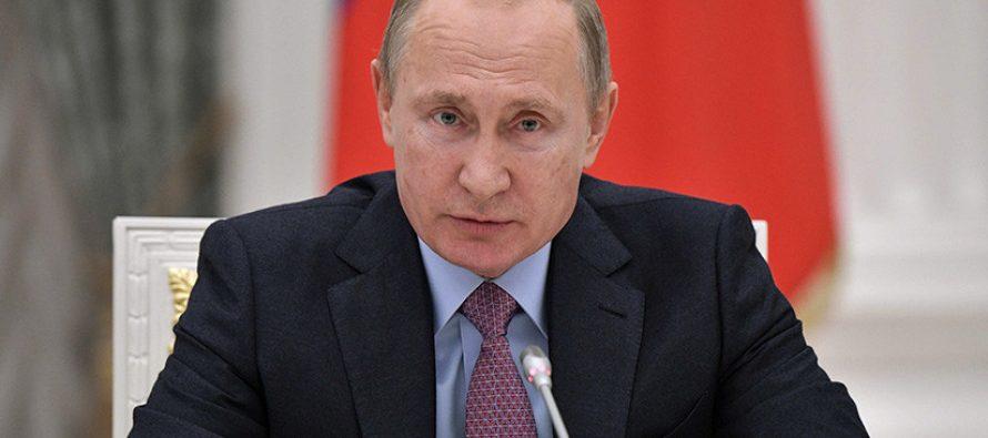 Llama Putin a que prevalezca el sentido común