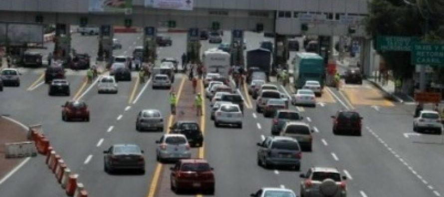 Autopista México-Toluca, la de mayor aforo vehicular