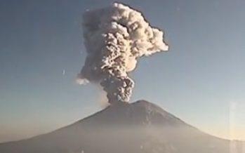 Autoridades analizan actividad del Popocatépetl