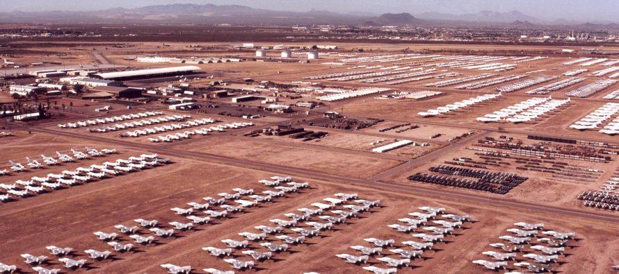 Aviones de la FA de EU en tierra tras 'asfixiar' a sus pilotos
