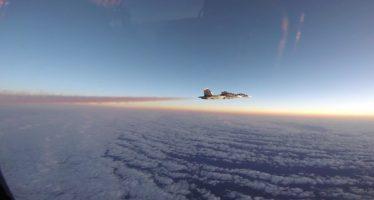 Moscú detalla acercamiento de aviones Su-30 y F-15 sobre el Báltico