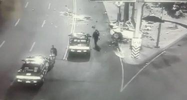 Culpable, conductor del BMW que chocó en Reforma y Lieja