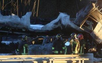 Choque múltiple en el norte de Italia deja seis muertos