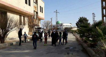 Cientos de familias regresan a sus hogares en Damasco-Campo