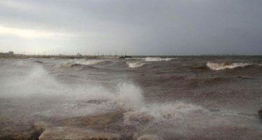 Cierran puertos sirios por malas condiciones climáticas