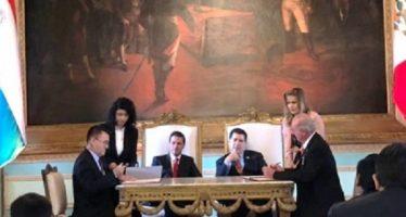 Cooperación entre agencias espaciales de México y Paraguay