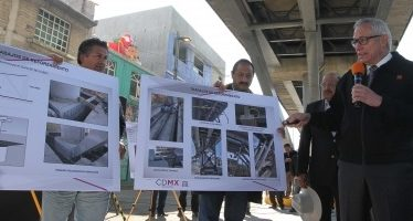 Entrega director del Metro trabajos de reforzamiento en Línea 12