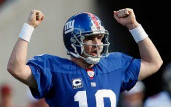 Manning trabajará con el entrenador de Gigantes de NFL