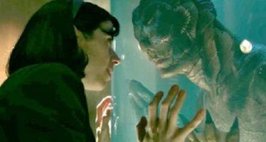 13 nominaciones al Oscar, para La forma del agua, de Del Toro