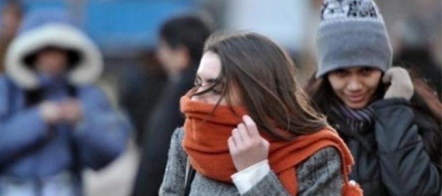 Frente frío 20 genera marcado descenso de temperatura