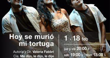 """Conferencia de Prensa: """"Hoy se murió mi tortuga"""" llega al Teatro Benito Juárez"""