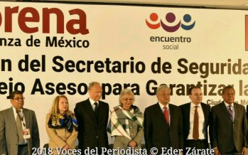 Propone López Obrador a Alfonso Durazo para la SSP