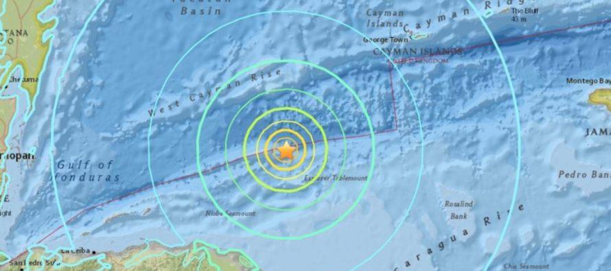 Terremoto de 7,6 en Honduras provoca alerta en el Caribe