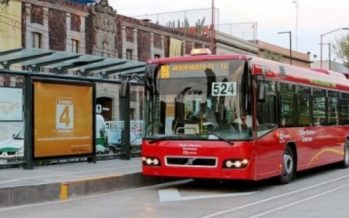 Línea 4 del Metrobús desvía su ruta por manifestantes