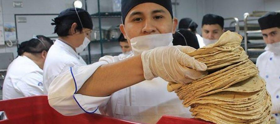 La tortilla también subirá de precio; alcanzaría los $17 el kilo