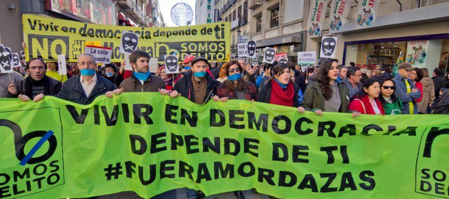 Excusas para coartar la libertad de expresión en España
