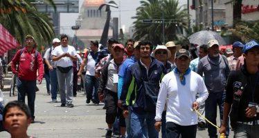Manifestantes afectan el oriente, centro y sur de la CDMX